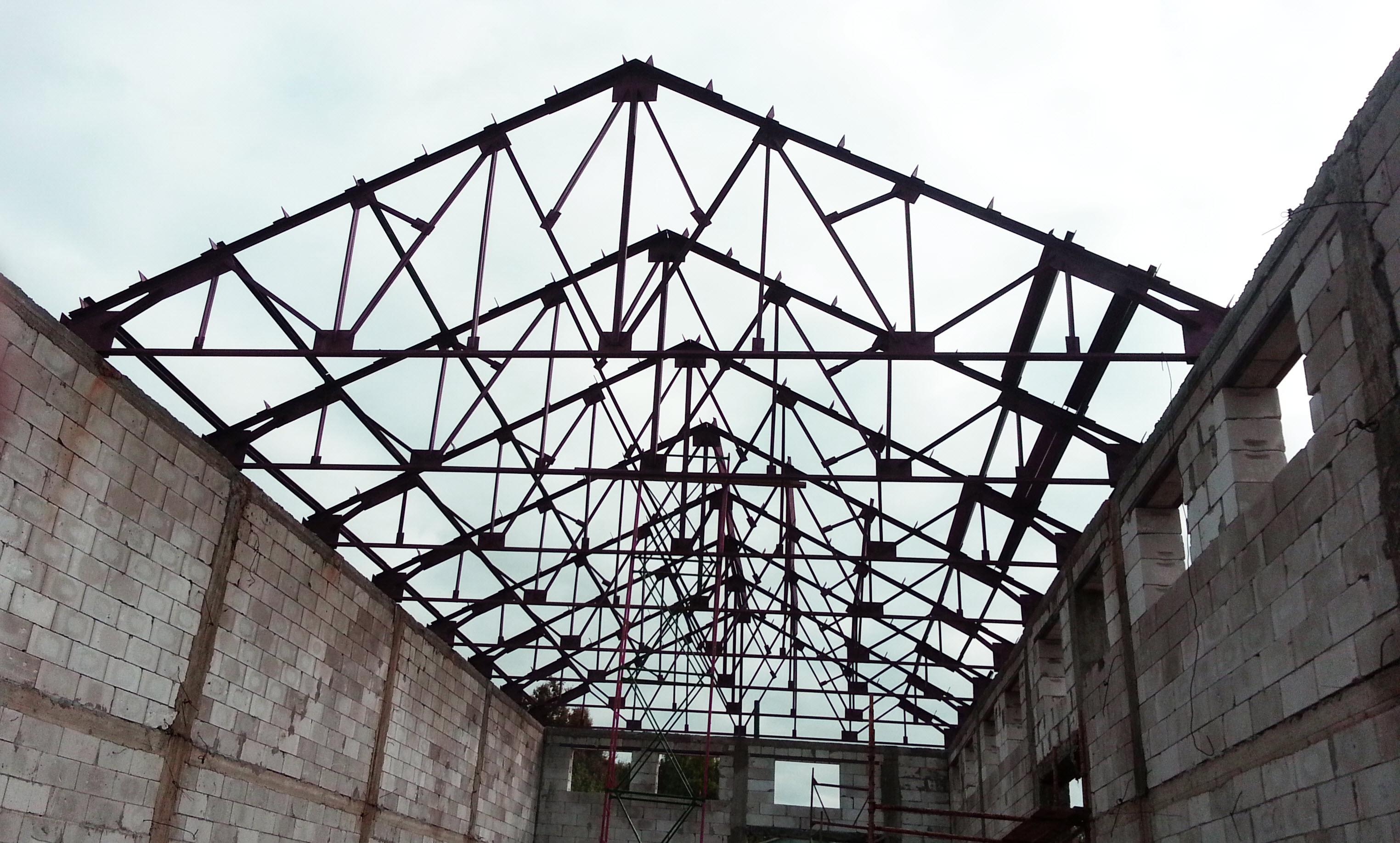 фото фермы металлические